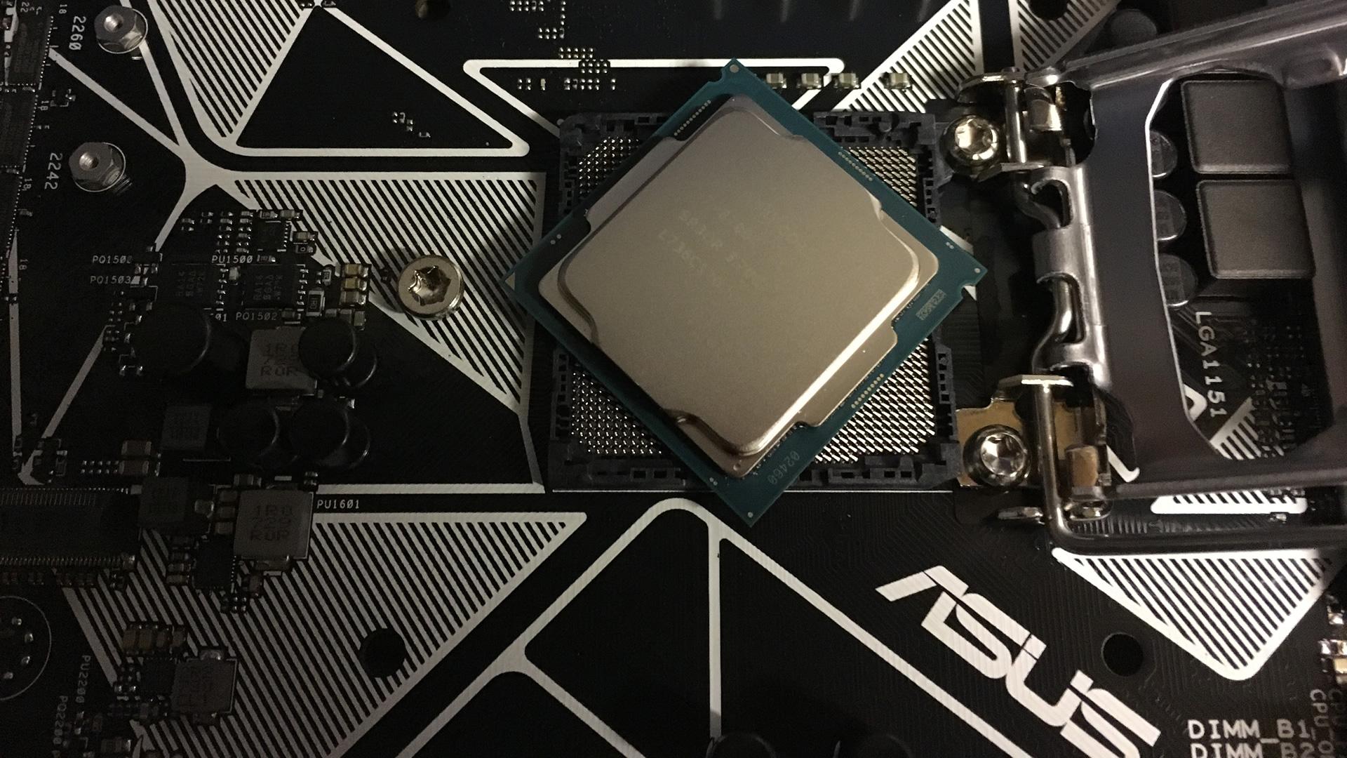 Coffee Lake Motherboard & CPU
